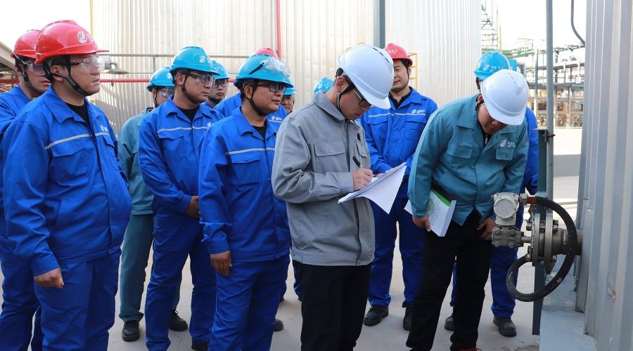 """山东省安全生产管理协会专家组来公司进行""""诊断式""""安全检查"""